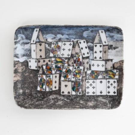 Citta di carta by Piero Fornasetti - Empty pocket - Italy