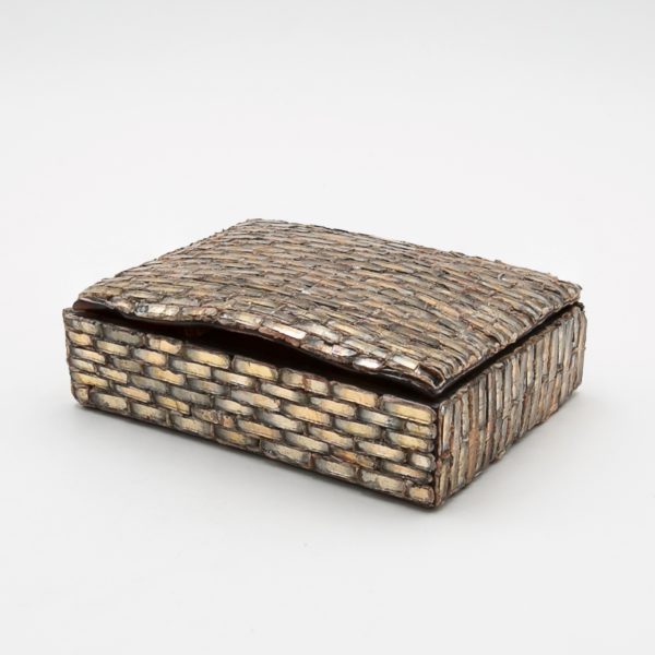 Talosel with encrusted mirrors box, Line Vautrin France - 01