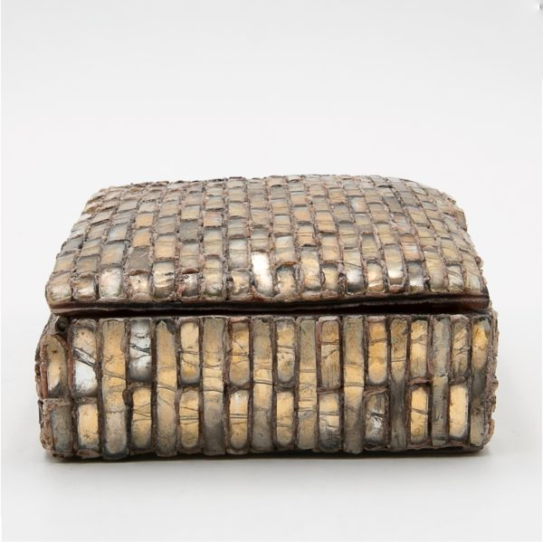 Talosel with encrusted mirrors box, Line Vautrin France - 02