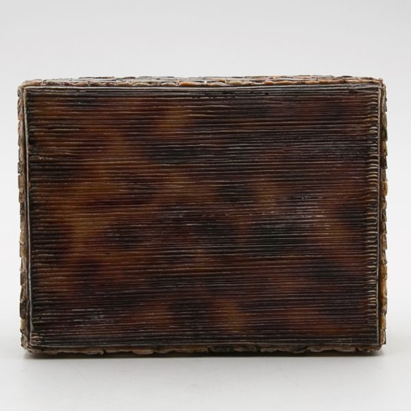 Talosel with encrusted mirrors box, Line Vautrin France - 05