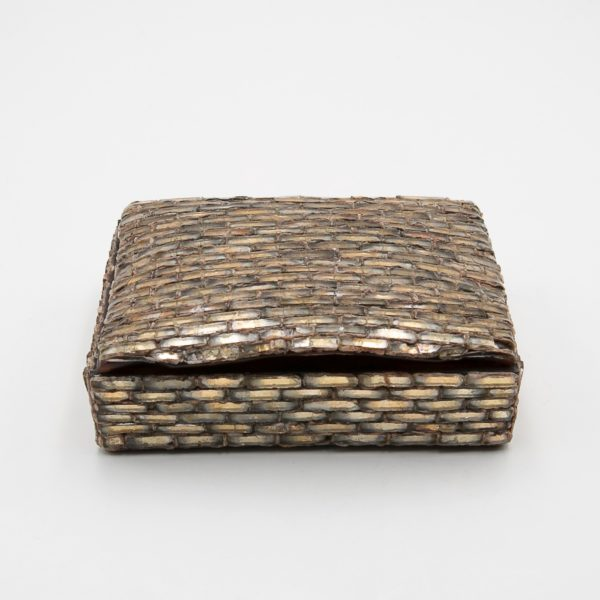Talosel with encrusted mirrors box, Line Vautrin France - 07
