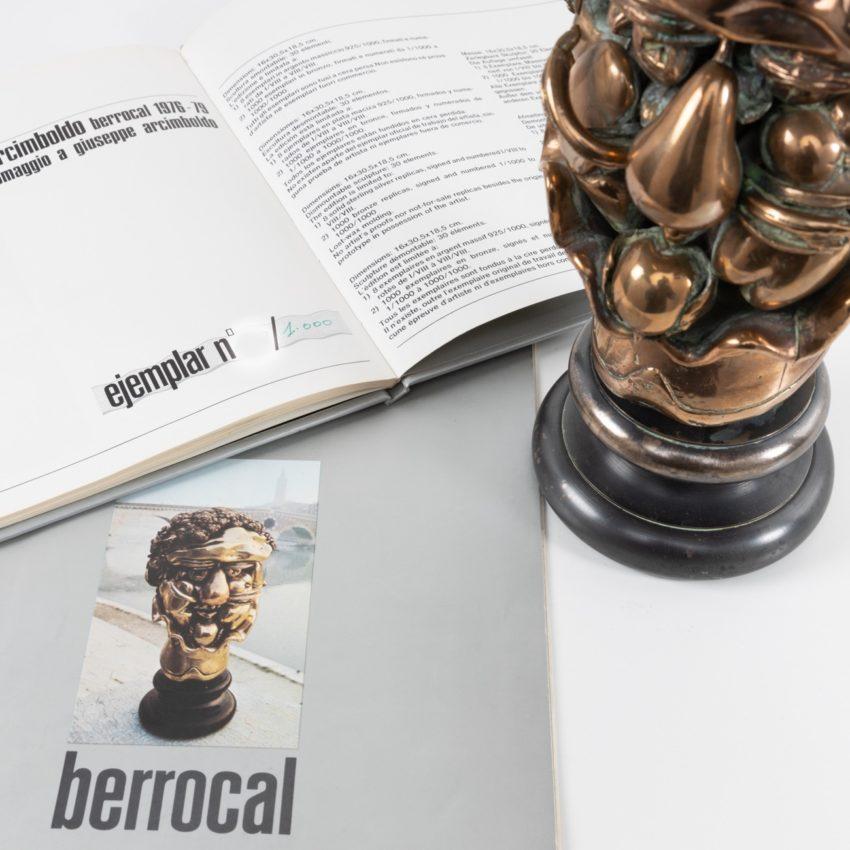 Omaggio ad Arcimboldo, Miguel Ortiz Berrocal (Spain) - 013