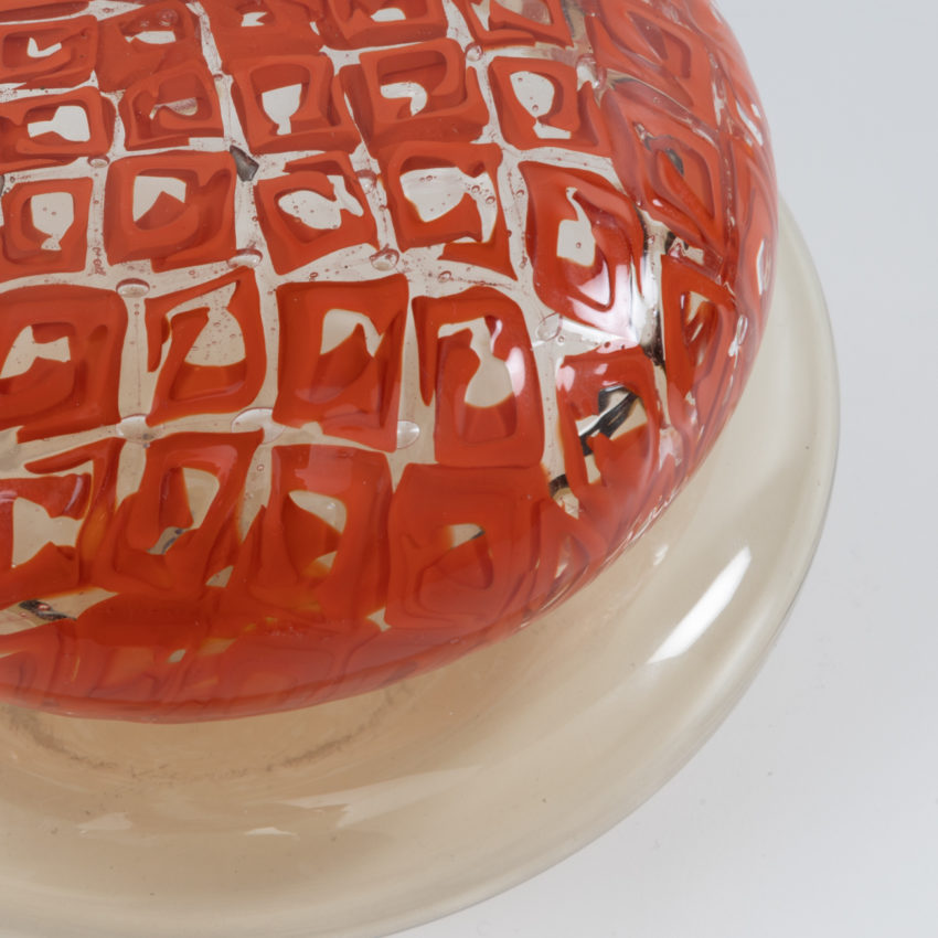 Glass box with murrine lid Ludovico Diaz de Santillana Venini