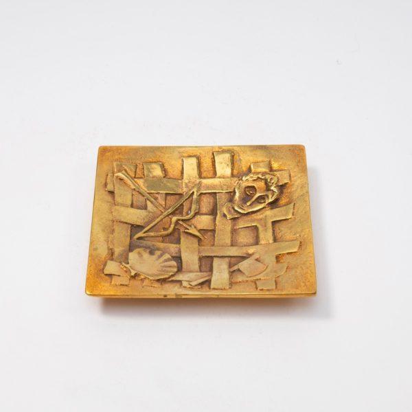 Line Vautrin Gilded Bronze Pocket Emptier Holopherne - 01