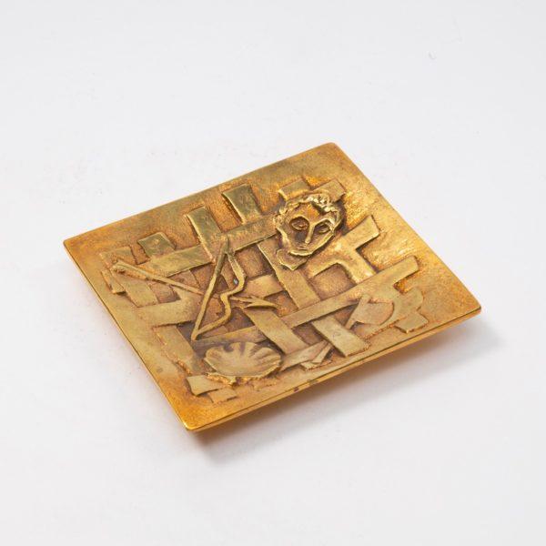 Line Vautrin Gilded Bronze Pocket Emptier Holopherne - 02
