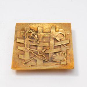 Line Vautrin Gilded Bronze Pocket Emptier Holopherne - 03