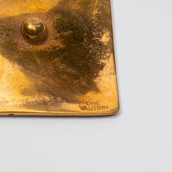 Line Vautrin Gilded Bronze Pocket Emptier Holopherne - 05