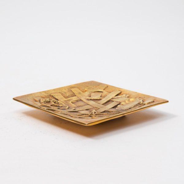 Line Vautrin Gilded Bronze Pocket Emptier Holopherne - 06