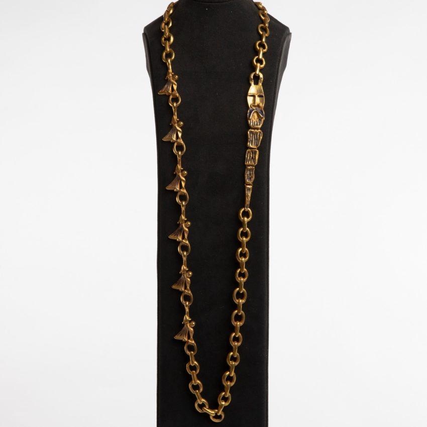 ZD74 Les femmes de barbe bleue necklace Line Vautrin-8