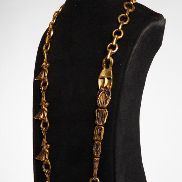 ZD74 Les femmes de barbe bleue necklace Line Vautrin-7