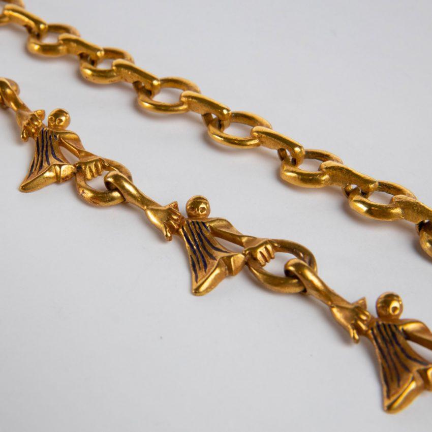 ZD74 Les femmes de barbe bleue necklace Line Vautrin-4