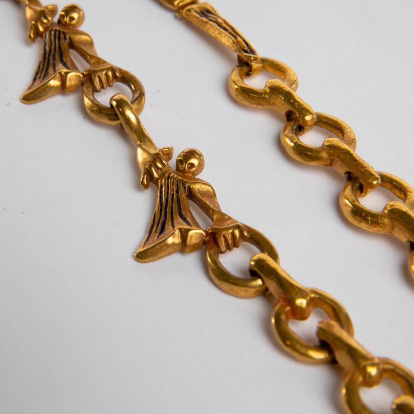 ZD74 Les femmes de barbe bleue necklace Line Vautrin-3