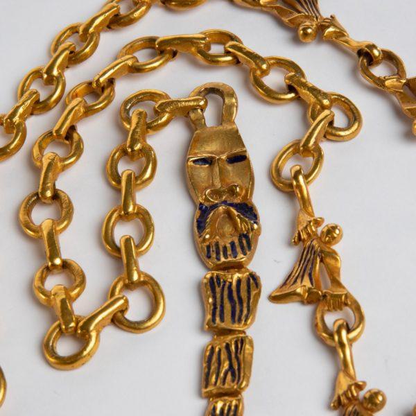 ZD74 Les femmes de barbe bleue necklace Line Vautrin-2