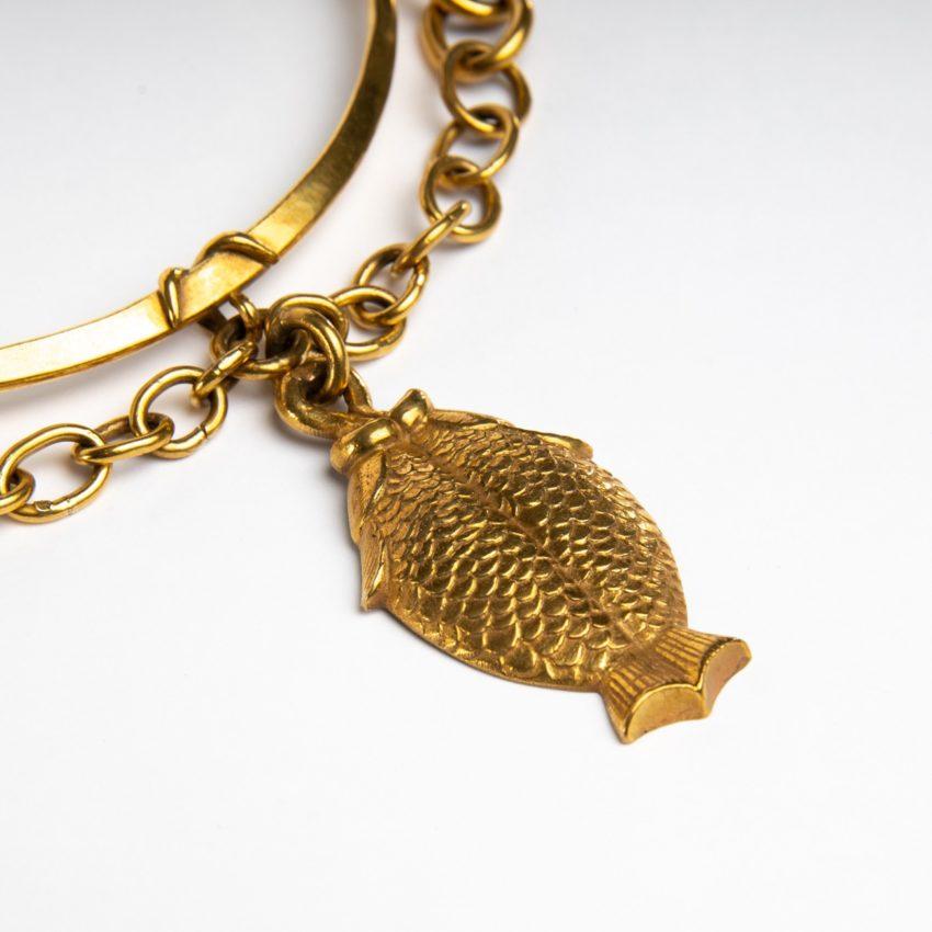 COD12_38 Les poissons jumeaux necklace Line Vautrin-2