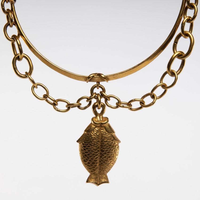 COD12_38 Les poissons jumeaux necklace Line Vautrin-9