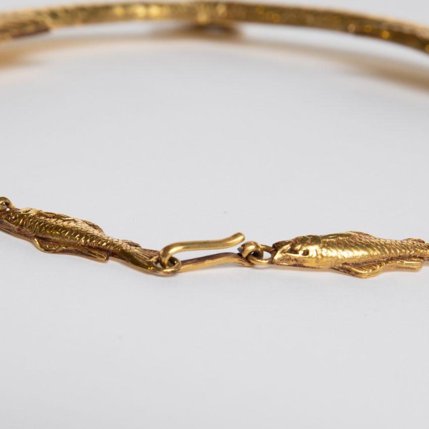 COD12_40 Les petits poissons deviendront grands necklace Line Vautrin-5