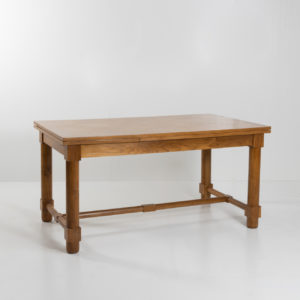 Presentation table with extensions by Jacques Adnet - 03