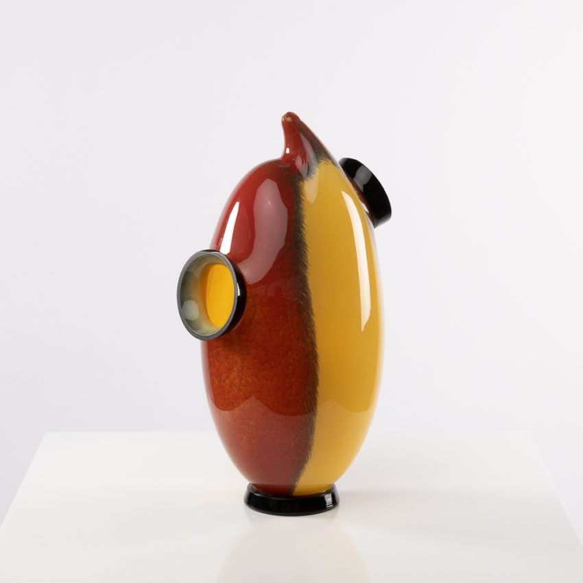 Chandra vase by Roberto Caddeo - Barovier e Toso - Italy - 01