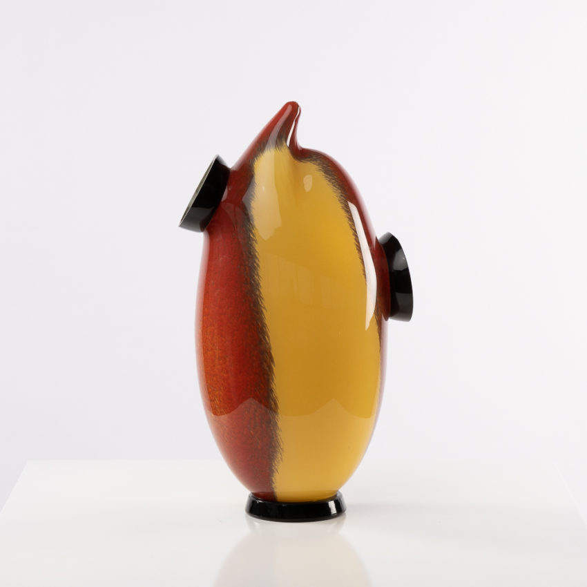 Chandra vase by Roberto Caddeo - Barovier e Toso - Italy - 02