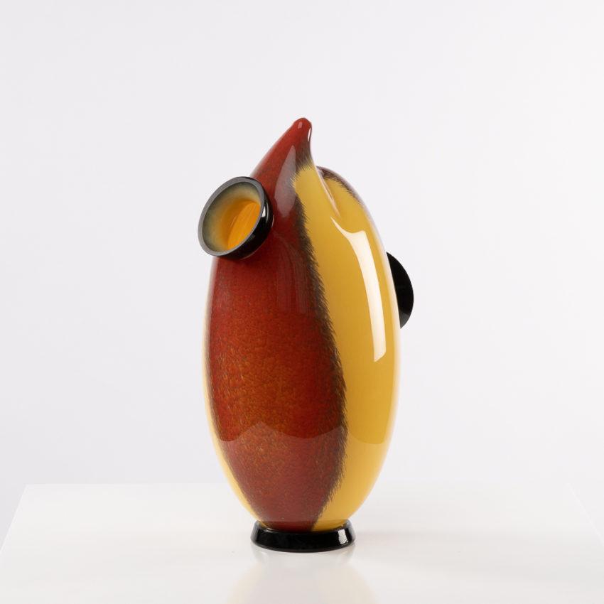 Chandra vase by Roberto Caddeo - Barovier e Toso - Italy - 03