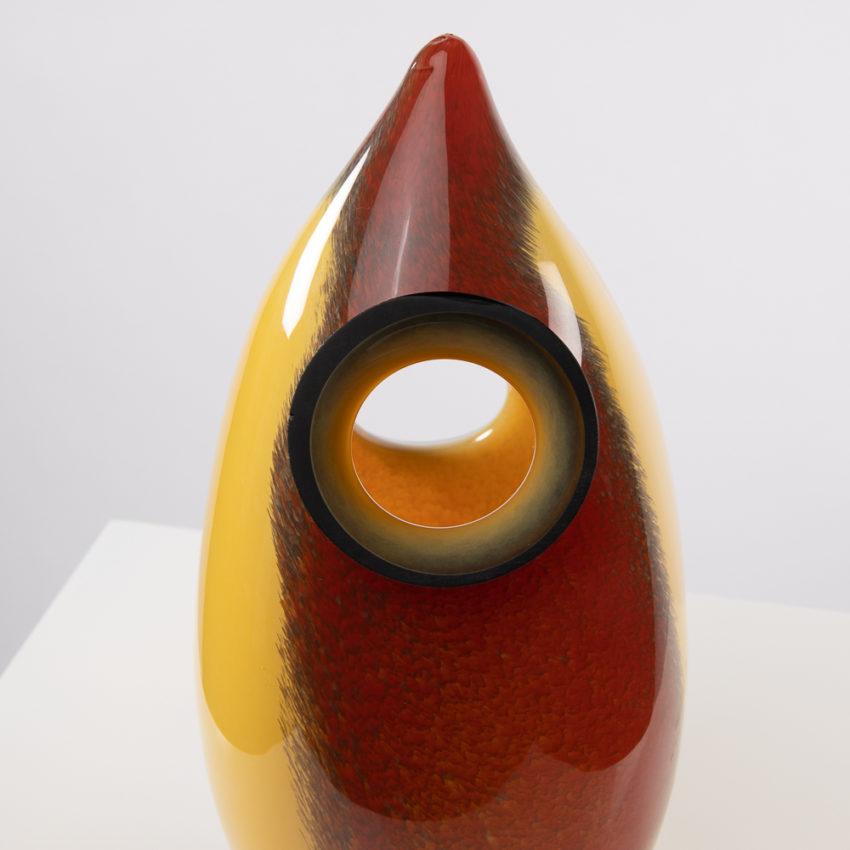 Chandra vase by Roberto Caddeo - Barovier e Toso - Italy - 06