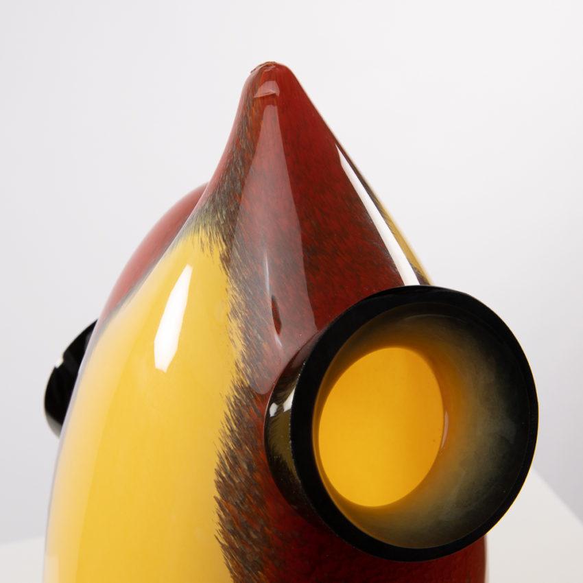 Chandra vase by Roberto Caddeo - Barovier e Toso - Italy - 07