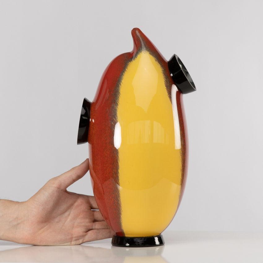 Chandra vase by Roberto Caddeo - Barovier e Toso - Italy - 09