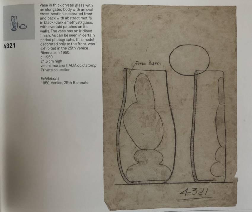 UE4_20 A macchie vase model number 4321 Fulvio Bianconi Venini-13
