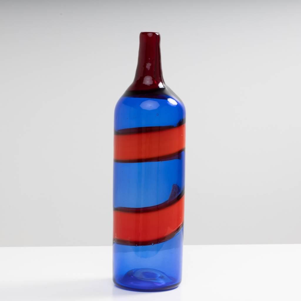 A fasce orizzontali blue red Fulvio Bianconi Veinini-1