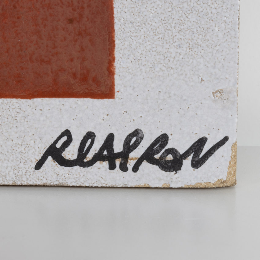 Ceramic wall plaque by Roger Capron -06