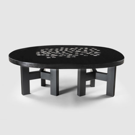 Free-form coffee table by Ado Chale - 01