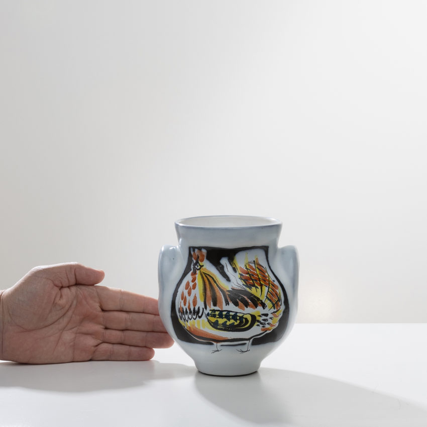 Glazed ceramic vase by Roger Capron - 09