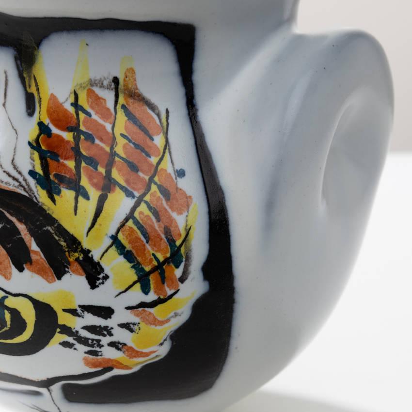 Glazed ceramic vase by Roger Capron - 04