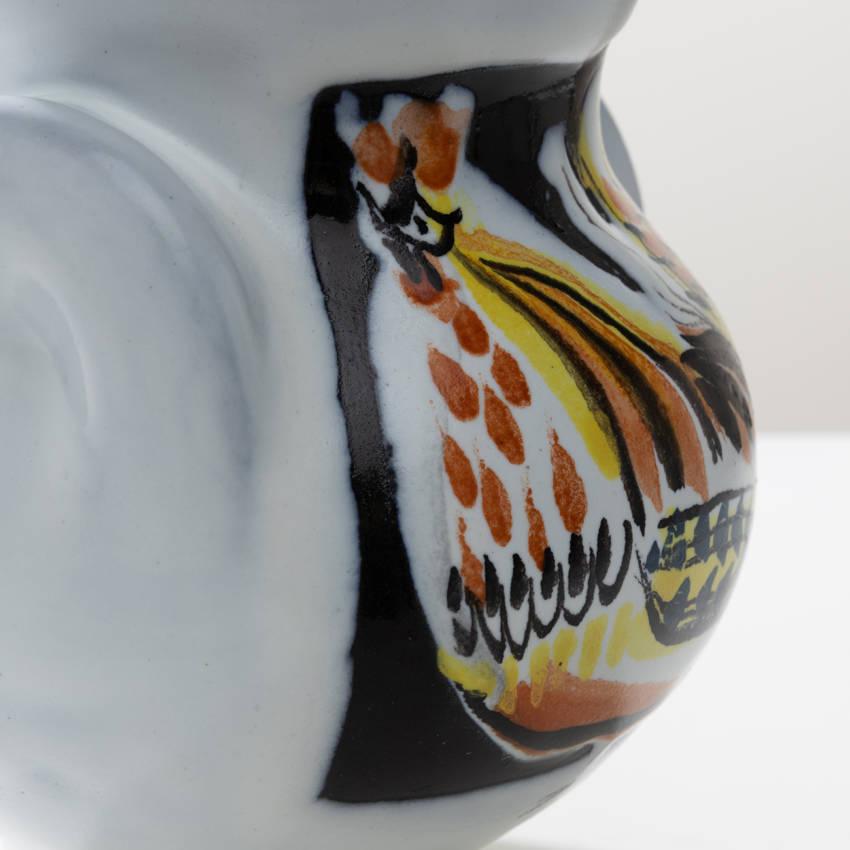 Glazed ceramic vase by Roger Capron - 05