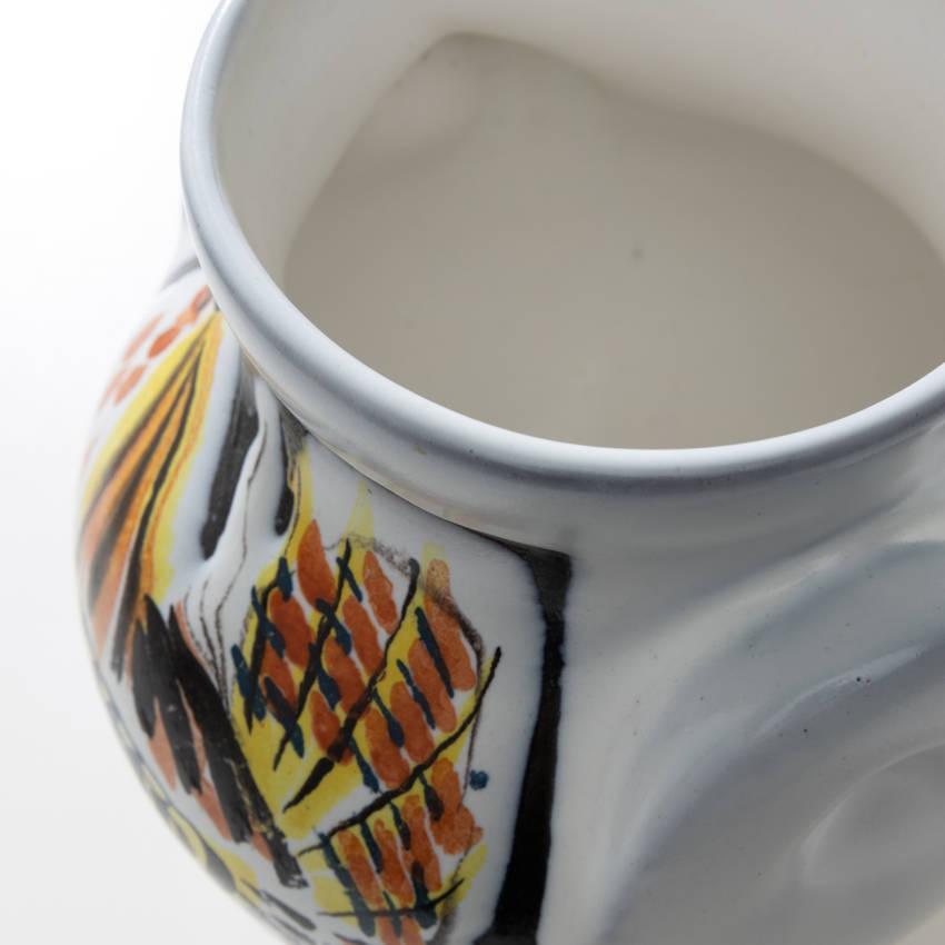 Glazed ceramic vase by Roger Capron - 06