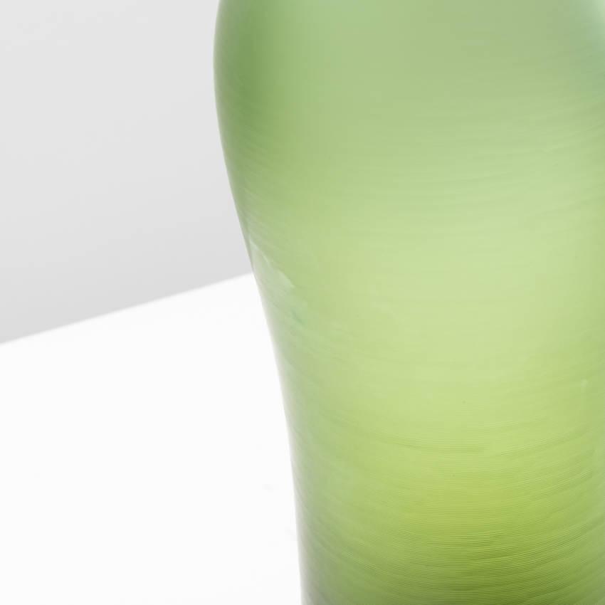 Inciso bottled vase model 4815 erba color Paolo Venini - 08
