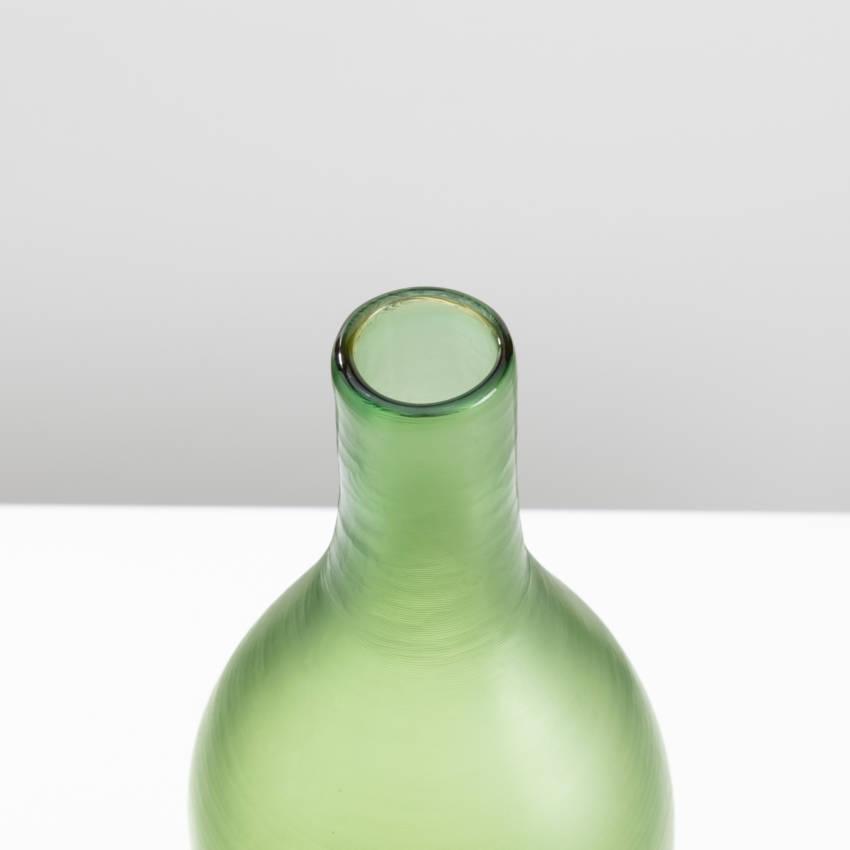 Inciso bottled vase model 4815 erba color Paolo Venini - 09