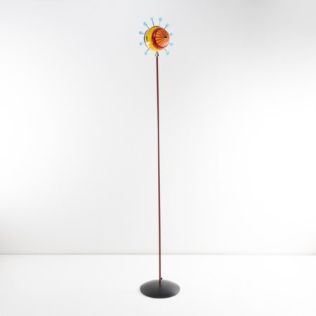 Alioth floor lamp, in a limited series of 50 Venini Murano Italy 1992 - 01